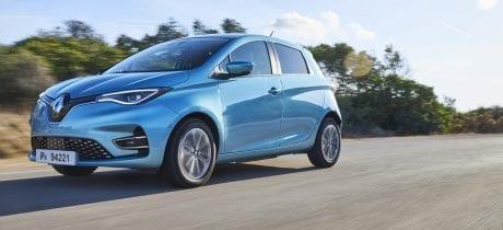 Prijzen nieuwe Renault ZOE Z.E. 50