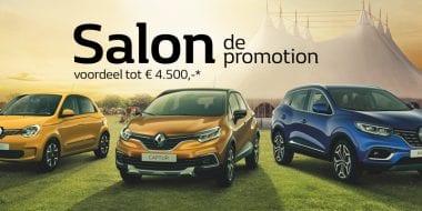 Salon de Promotion bij Van Mossel VKV tot en met 30 september
