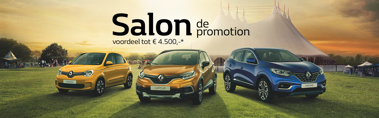 Salon de Promotion bij Van MOssel VKV tot 30 september 2019