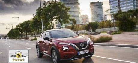 Vijf sterren Euro NCAP voor nieuwe generatie Nissan JUKE