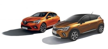 Zakelijk aantrekkelijke Business-uitvoeringen van Renault Clio en Captur