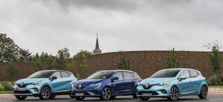 Persintroductie nieuwe Renault CLIO E-TECH Hybrid, CAPTUR E-TECH Plug-in Hybrid en MEGANE E-TECH Plug-in Hybrid