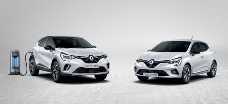 Nieuwe Renault CLIO en CAPTUR E-TECH in de showroom