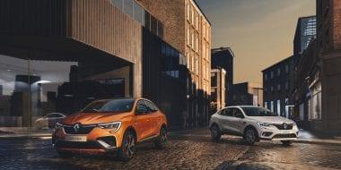 Nieuwe Renault ARKANA, de hybride SUV Coupé voor Europa